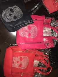 Skull print tote bag with  medium pouch inside  Hampstead, H3X 3J2