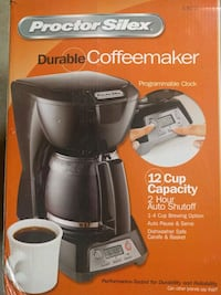 black and gray Keurig coffeemaker box Ashburn