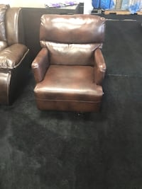 Leather Rocker Chair Norfolk, 23518