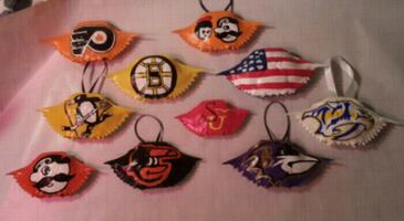 Gifts painted crabs ravens orioles etc