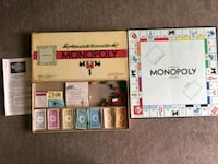 1946 Antique Monopoly Gameboard Calgary, T2R 0S8