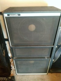 Acoustic bass cabinet.. Springfield, 45503