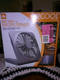 Battery or Electric Operated Fan