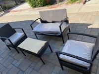 Brand New!! Outdoor seatings 4 piece sets