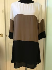 LuLu's Tri-Color 3-4 Sleeve Dress Ladera Ranch, 92694