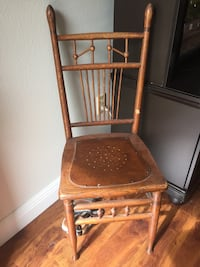 Wooden antique type chair. Port Charlotte, 33952