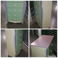 Children's Five Drawer Chest Dresser  Hyattsville, 20781