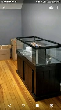 80 gallon shallow tank and stand  East Meadow