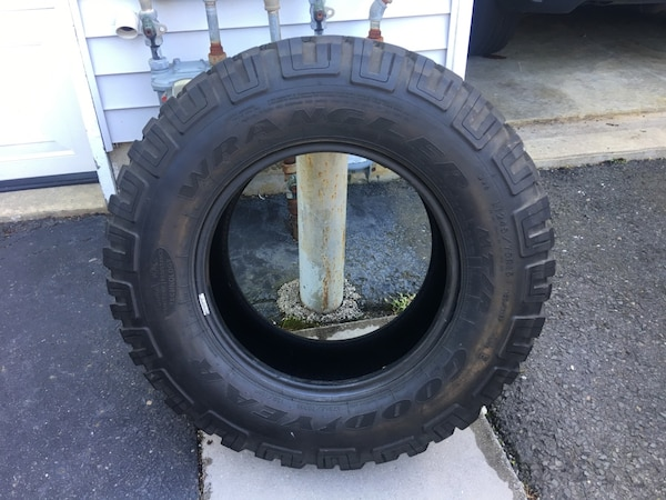 245 75 16 >> Used Goodyear Wrangler Mt R 245 75 16 Jeep Tire For Sale In