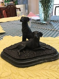 Statue on Marble Base