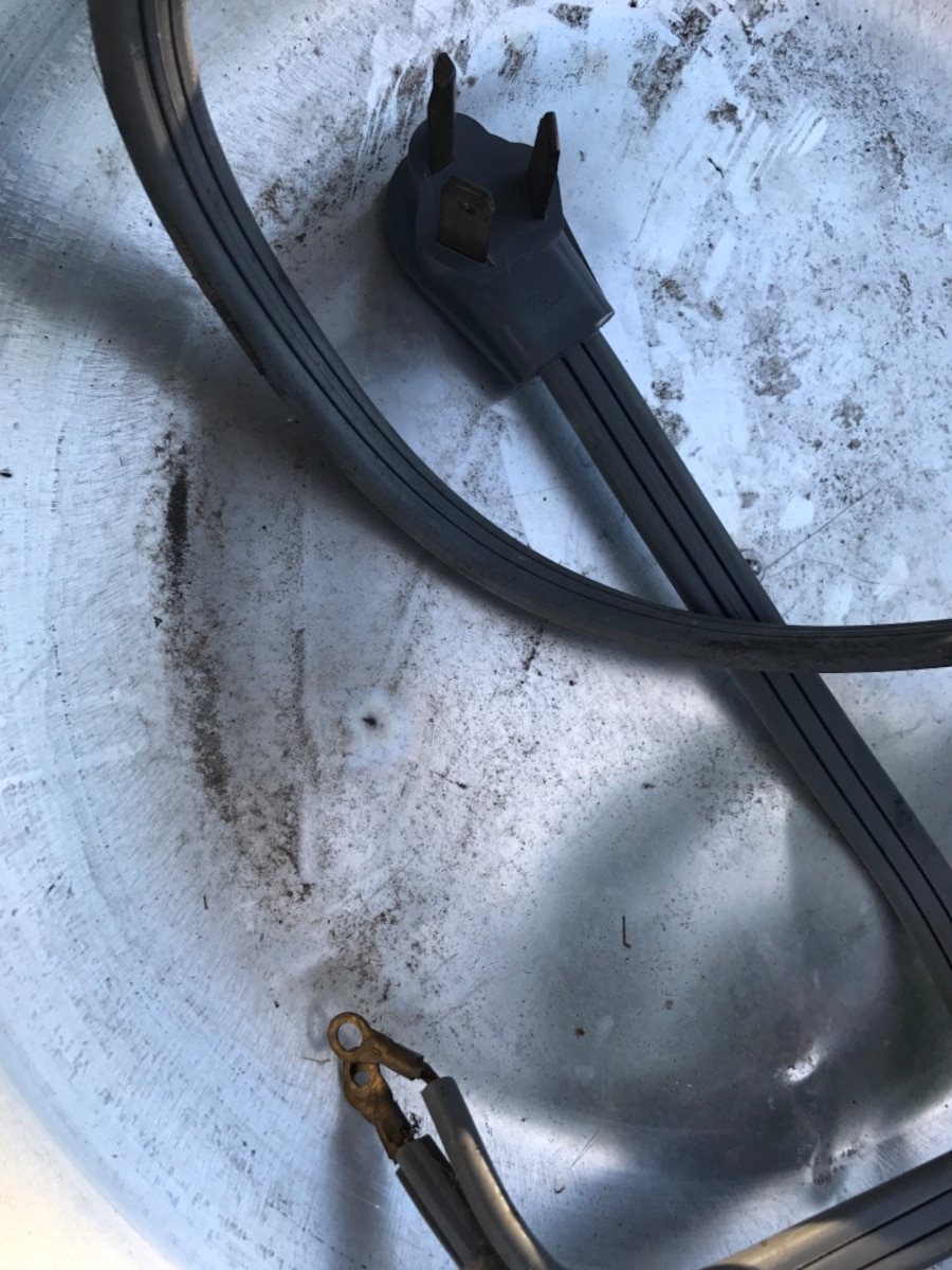 Power cord for a dryer or electric stove 6 foot long. - Central Park