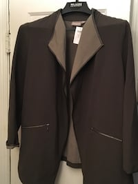 Black and gray notched lapel suit jacket Baltimore, 21213