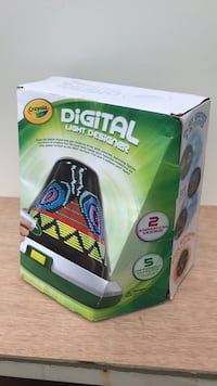 New Crayola Digital Light Designer electronic game toy