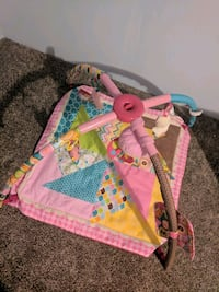 baby's pink and green activity gym Killingly, 06239