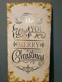 Wood Christmas Sign / Decor Oakville, L6J 6Z8