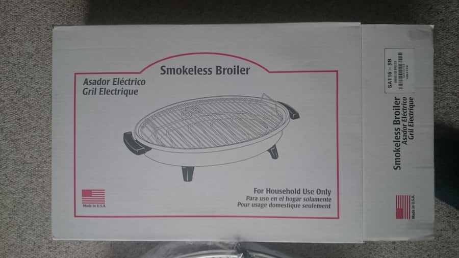 Salad Master Smokeless Broiler 2