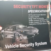 Car security and review car system monitor