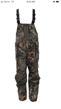 Heavy Insulated Army Camo Bibed  suit Size Large Baytown, 77523