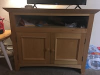 Brown wooden cabinet with drawer TV Stand South Salt Lake, 84119