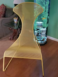 IKEA PS. COLLECTION 2012 IRON YELLOW CHAIR $60.00 Covington, 30016