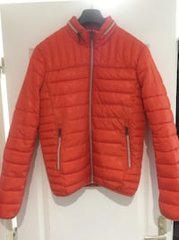 Doudoune celio orange