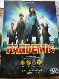 Pandemic Board Game Ann Arbor