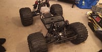 Slash Ultimate Edition 4x4 rpm arms aluminum hubs 2 bodies 2 extrasers of tires 12s lipo and nimh and parts Losi Aftershock converted to electric nedds mount motor and esc brings remote and receiver  Winnipeg, R3T