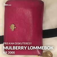 Mulberry lommebok