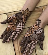 Henna tattooing New Westminster