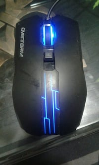 black CM storm gaming mouse