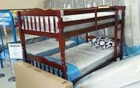 Brand new solid wood bunk bed with 2 mattresses Silver Spring, 20902