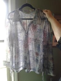 Size 2X ?   MXM Shear BLOUSE*IF AD'S UP, IT'S STILL AVAILABLE