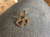 925 marcasite heart earrings Glen Burnie, 21061