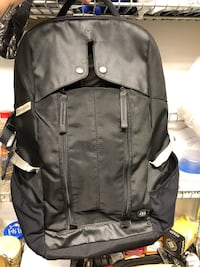 Victorinox black daypack backpack