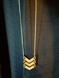 Triple Chevron Necklace Simi Valley