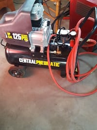 Centralpneumatic air compressor