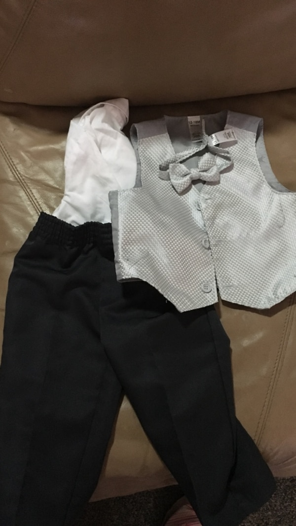 12-18 month infant boy suit
