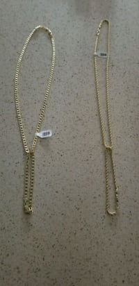 gold chain necklace with bracelet set Powder Springs, 30127