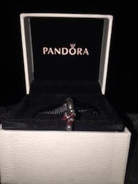 Pandora Charm- Candy Cane, PERFECT for upcoming Holidays. Never  used Jacksonville, 32256