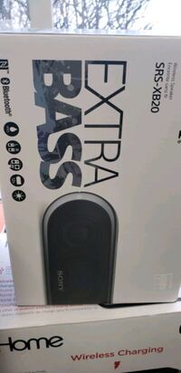 black and white wireless speaker box Brampton, L7A 3A9