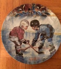 Hockey Collector plate Vaughan, L6A 3N9
