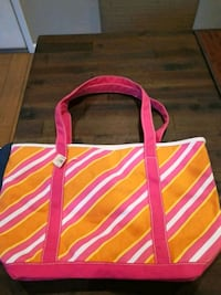 new with tag canvas tote