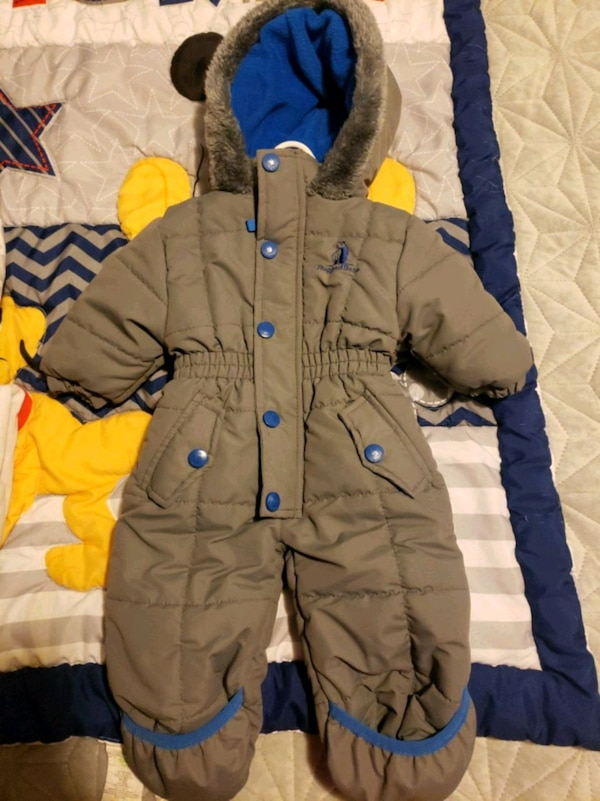 82f5e4287 Baby boy 3-6 month rugged bear winter coat