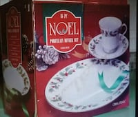16 pieces Christmas dinnerware Fine China Noel Chantilly, 20151