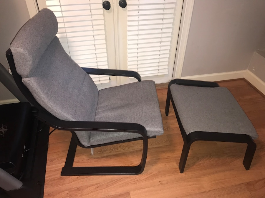Incroyable Comfy Poaeng Chair And Ottoman Combo By IKEA