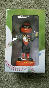 Baltimore Orioles Bird Bobblehead Old Bay mallet Ellicott City