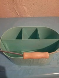 green and white plastic container Dracut, 01826