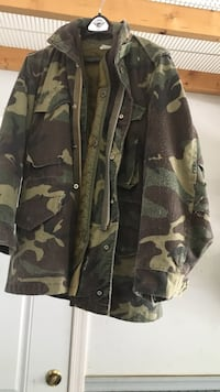 Brown, green and cream camouflage jacket Martinsburg, 25401