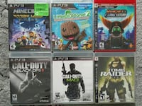 PS3 games for sale individually  Vaughan, L4L