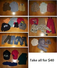 4T Boy Clothing Lot 3 (Take 31 Pieces for $40) Mississauga